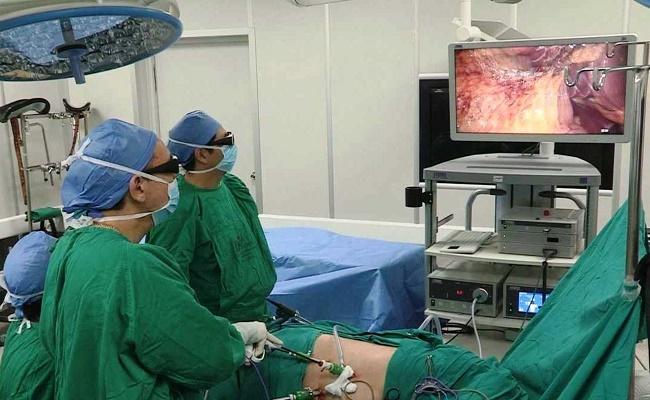 extirpación laparoscópica