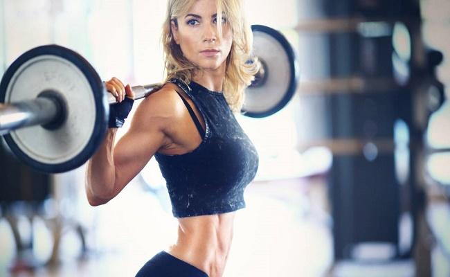 ganar músculo las mujeres. 1