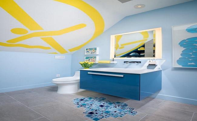 pintura para baños pequeños 5