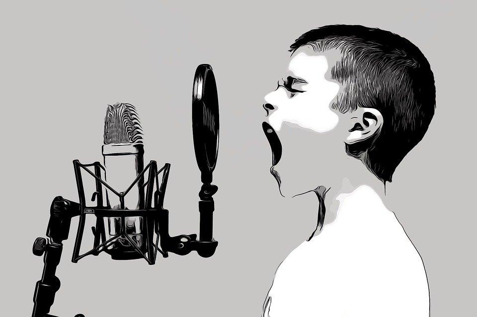 Educando las voces de los niños se pueden convertir en cantantes profesionales