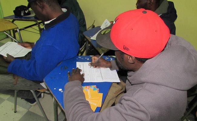 Migrantes haitianos de Valdivia. 0