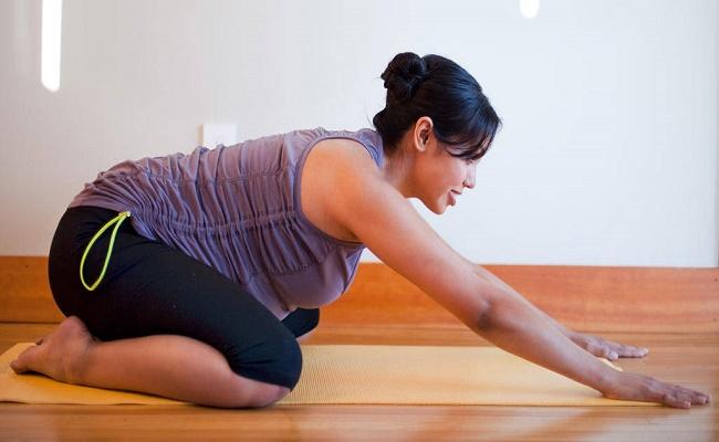 ejercitarse durante el embarazo. 4