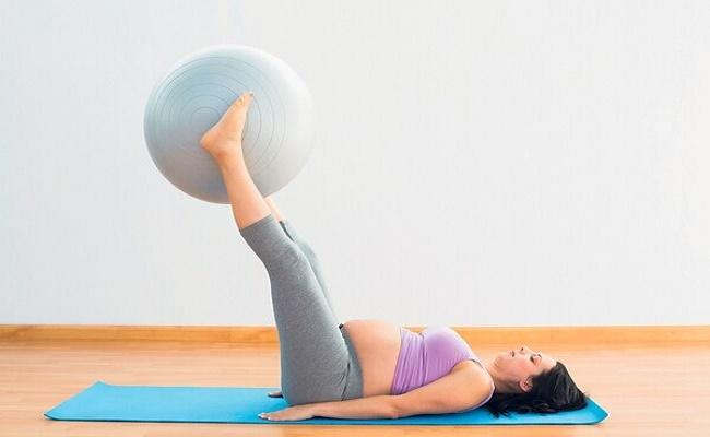 ejercitarse durante el embarazo. 5