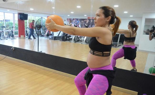 ejercitarse durante el embarazo. 6