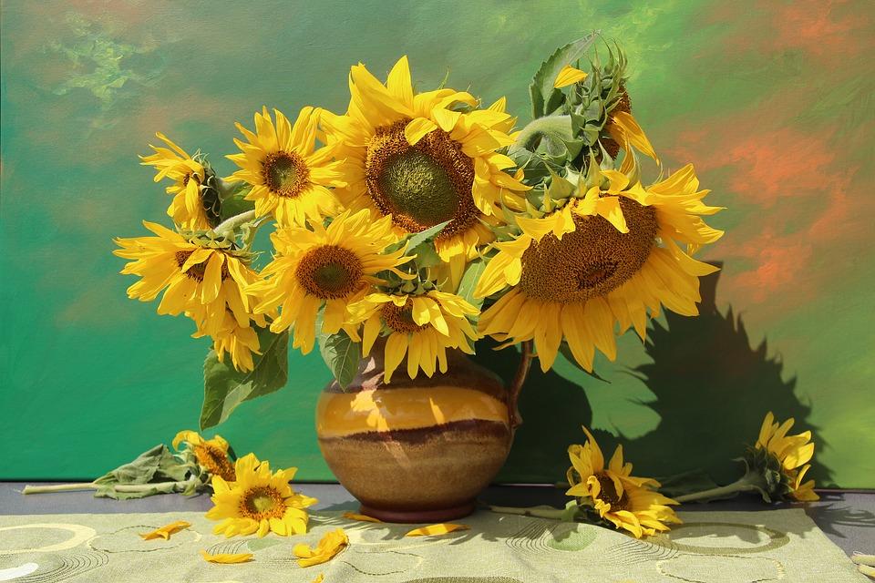 decorar su casa con flores.
