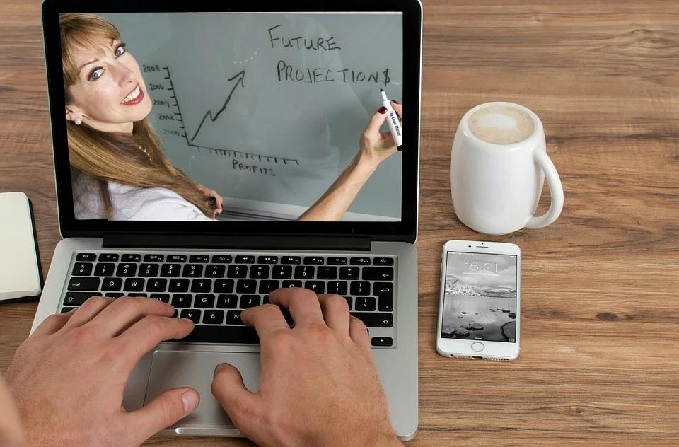 conferencias de negocios en línea-
